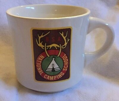 BSA Boy Scout MUG cup NATIONAL CAMPING SCHOOL Coffee Mug Coffee Cup
