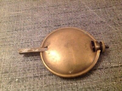 Antique Brass Pendulum 68g 43mm Diameter 65mm Long For Spare Parts