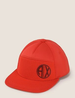 33eff5acc58 ARMANI EXCHANGE AUTHENTIC Circle Logo Patch Hat Black NWT -  39.99 ...