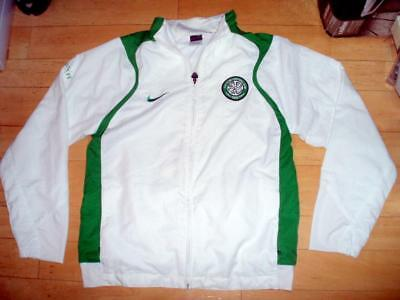 Celtic FC Mens' Medium Nike tracksuit training warm-up football top shirt Nike