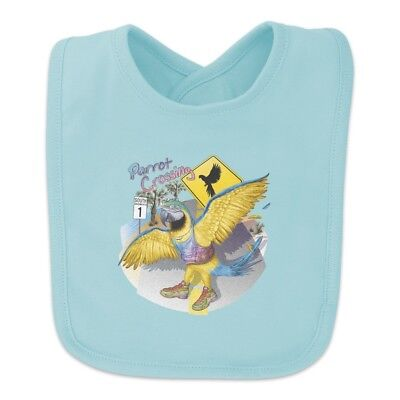 Parrot Crossing Sunglasses Tropical Vacation Route 1 Baby Bib