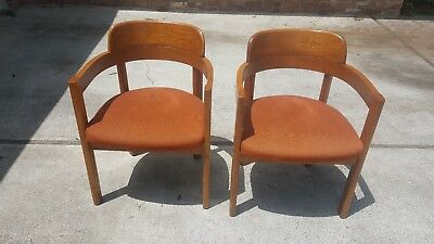 Vintage Mid Century Modern Bentwood Chairs Boling Chair Co