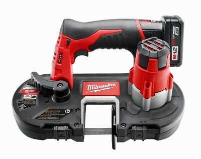 MILWAUKEE Sub Compact Band Saw XC Kit Cutting Tool 12 Volt Lithium Ion Cordless