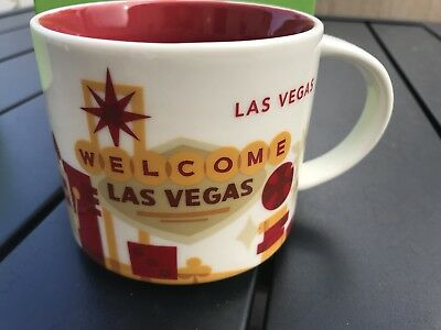 Starbucks You Are Here Mug LAS VEGAS brand new original packing box collectibl