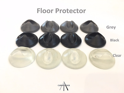 Superior 4 Hairpin Table Legs Floor Protector Feet / Glide / Tips Protector Feet