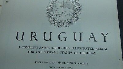 Uruguay Stamp collection on Minkus pages to '96 , glassines, etc
