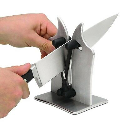 Fast Kitchen Knife Sharpener Tool Sharpens Hones & Polisher As Seen On TV