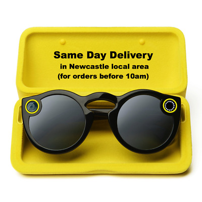 Snapchat Spectacles BLACK Camera Glasses Take snaps with your glasses!