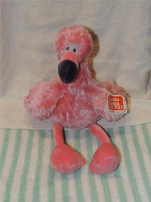 """Mingo the Stuffed Pink Flamingo - by GUND - 16"""" - #032037 With Tag"""