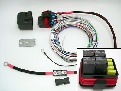 Universal Waterproof Relay/Fuse Distribution Box 80 Amps JEEP SPOD