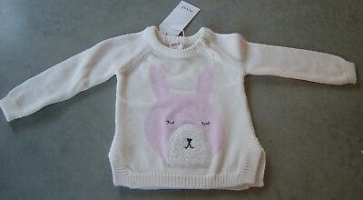 Seed Heritage Baby Girls Cotton Jumper Sz  6 -  2 Months Brand New With Tags