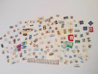 Lot Of Vintage United States Postal USPS Postage Stamps 25 Cents Collectibles