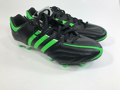 wholesale dealer 1008f 5ef71 ... authentic adidas adipure 11pro trx fg mens soccer cleats us black green  size 6.5 18bfc 92e95