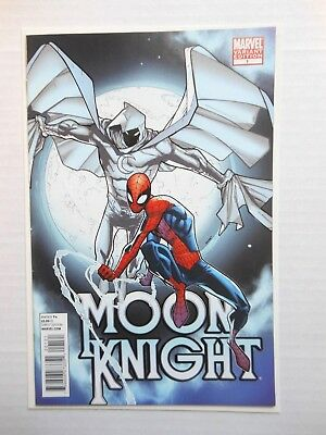 Moon Knight #1 In Vf Or Better 1:25 Variant Spiderman Cover