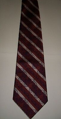 VINTAGE RETRO MENS' NECK TIE (wide style) butterfly design
