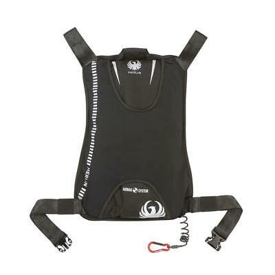 Merlin motorcycle jacket integrated airbag air bag vest safety rechargeable