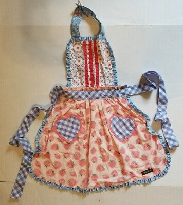 Matilda Jane Girls Hearts & Crafts Apron Camp MJC NWT Brand New OS