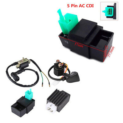 Atv Parts & Accessories Sincere New Ignition Coil Cdi Regulator Rectifier Relay Kit For 50 70 90 110cc Chinese Atv Atv,rv,boat & Other Vehicle