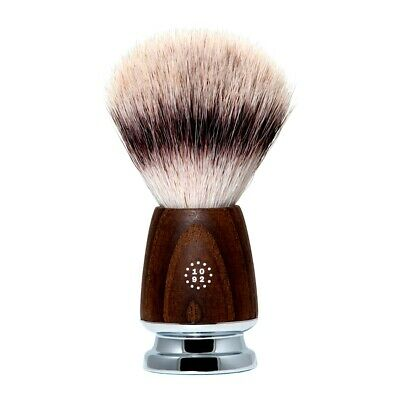 One Thousand & Ninety Two Synthetic Silvertip Fibre Shaving Brush: Ash Wood