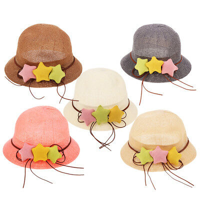 Baby Sun Hat Summer Beach Hat Bucket Cap Newborn Toddler Kids Boy Girl 1-6 Years