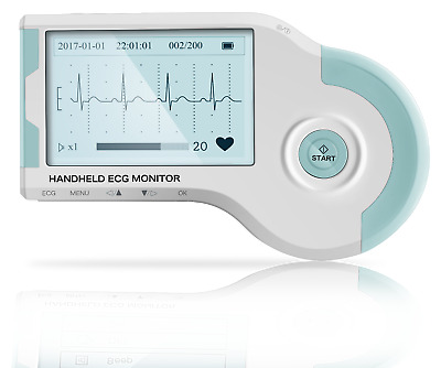 MD100B Observer Handheld ECG Monitor with USB cable, Software & 3 patient leads