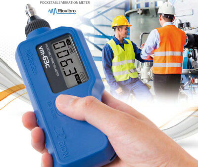 RION VM63C Pocketable Vibration Meter (Riovibro)