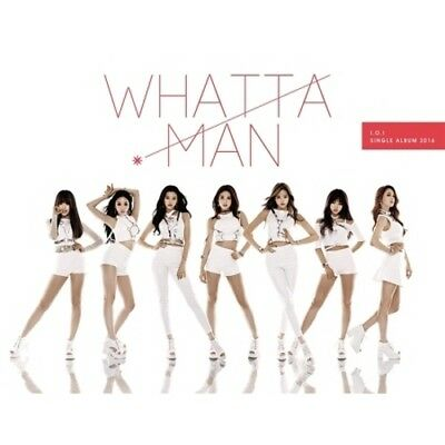 I.O.I-[Whatta Man] IOI 1st Single Album CD+Poster+52p+1p Photo Card K-POP Sealed