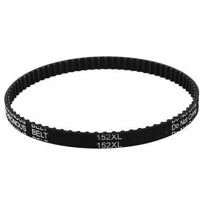 H● Table Saw Rubber Timing Belt 76 Teeth 9.5mm Width 5.08mm Pitch 152XL 037