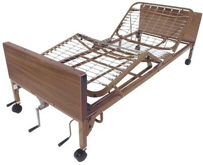 Drive Hospital Bed Medical Mobility Frame Only Steel Adjustable Height Manual