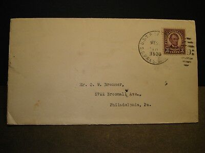 SS PRESIDENT LINCOLN, AMERICAN PRESIDENT Lines Naval Cover 1930