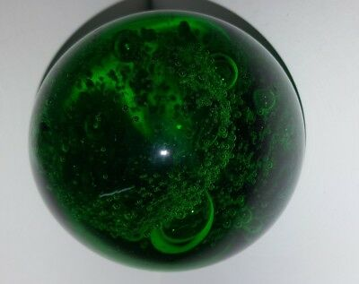 Biot France Art Glass Paperweight  Etched To Base