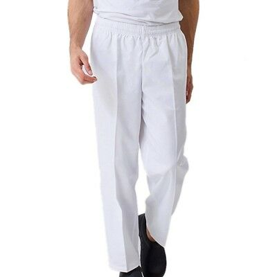 White Bakers Trousers Chef Trousers