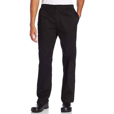 Black Chef Trousers Bakers Trousers