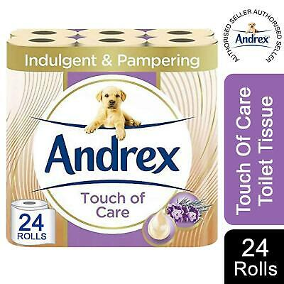 Andrex Smooth Touch Toilet Tissue, 24 Rolls