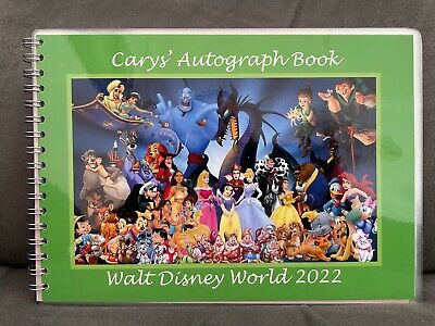 Personalised Disney Autograph Book