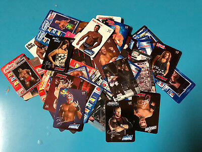 Lotto 91 Cards Wrestling serie Smack Down + Raw