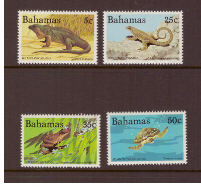 Bahamas MNH 1984 Wildlife, Reptiles and Amphibians  set mint stamps