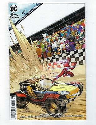 The Flash / Speed Buggy # 1 Variant Cover NM DC Hanna Barbara