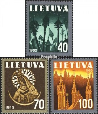 Lithuania 474-476 (complete issue) unmounted mint / never hinged 1991 Symbols