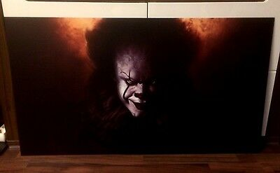 PENNYWISE, ES, IT, STEPHEN KING BILD/PICTURE 56x100