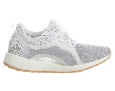 b848e57ca27 Adidas Pure Boost X 2.0 Clima Womens BB6089 White Silver Running Shoes Size  6.5