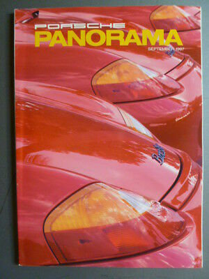 September 1997 Porsche PCA Panorama Magazine September 1997 RARE!! Awesome L@@K