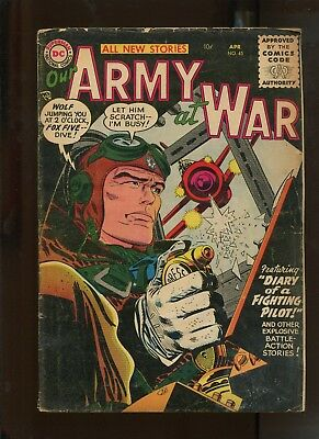 Our Army At War #45 (4.0) Diary Of A Fighting Pilot