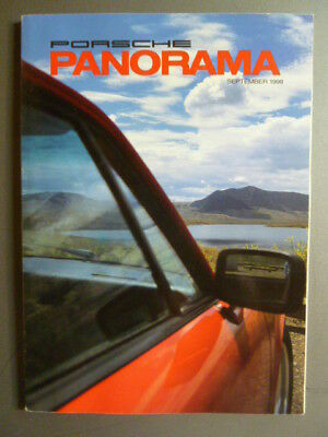September 1998 Porsche PCA Panorama Magazine September 1998 RARE!! Awesome L@@K
