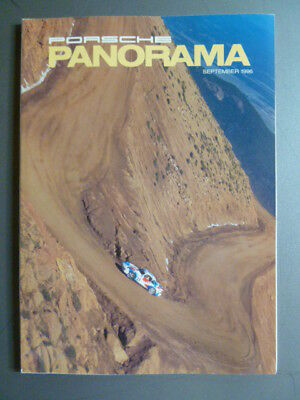 September 1996 Porsche PCA Panorama Magazine September 1996 RARE!! Awesome L@@K