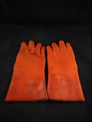 """SHOWA Best Insulated PVC Coated Gloves Super Flex 75 12"""" Length Size 10 #75-10"""