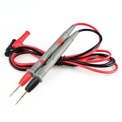 Digital Multimeter Probe Test Leads Pin Tester Probe Wire Pen Cable 1000V 20A