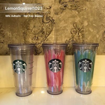NEW Starbucks Tumblers to Go 20oz. Acrylic Cold Cup Choose Color