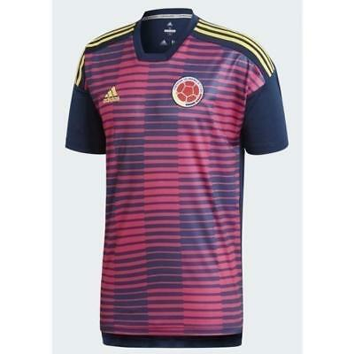 db11a03d8 adidas 2018 World Cup Colombia Men s Home Pre-Match Jersey CF1543 1805