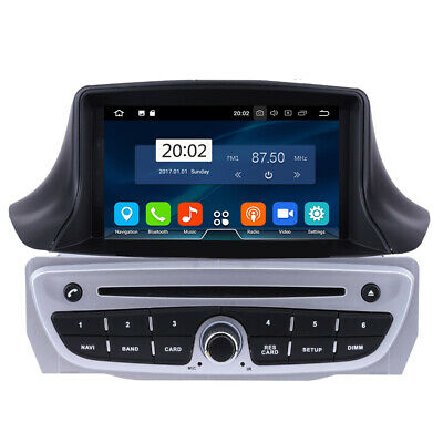 renault megane 3 android 8.0 car radio gps navi touch screen bt dvd